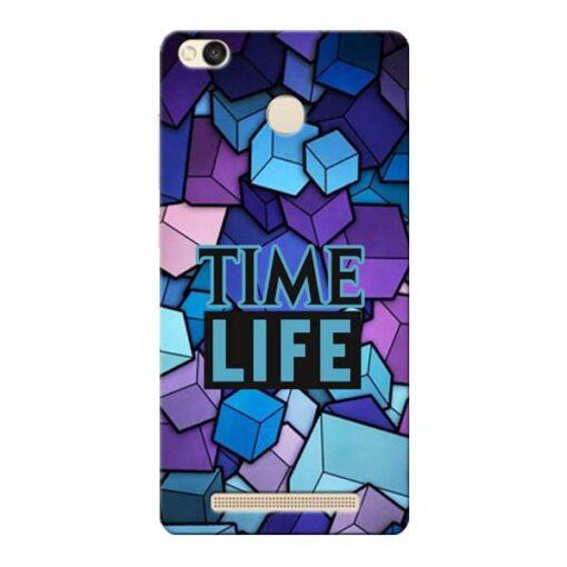 Time Life Xiaomi Redmi 3s Prime Mobile Cover