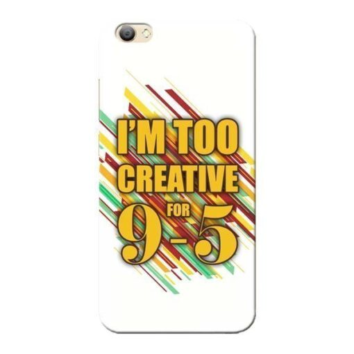 Too Creative Vivo V5s Mobile Cover