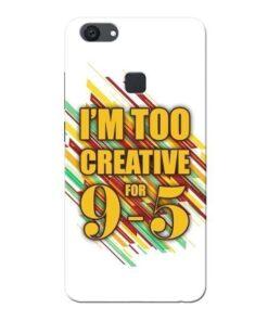 Too Creative Vivo V7 Plus Mobile Cover
