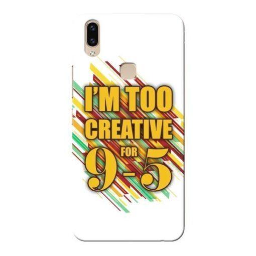 Too Creative Vivo V9 Mobile Cover