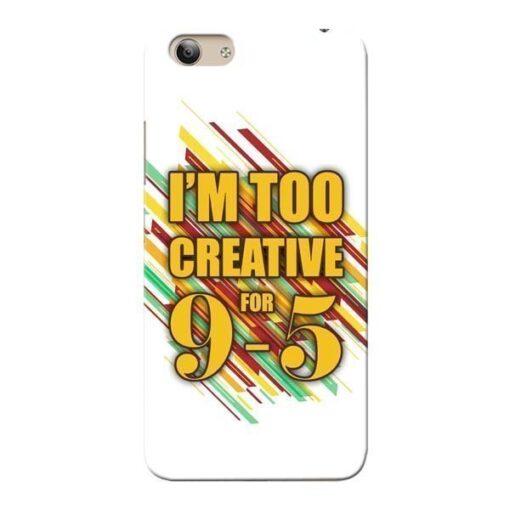 Too Creative Vivo Y53 Mobile Cover