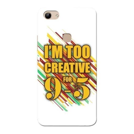 Too Creative Vivo Y81 Mobile Cover