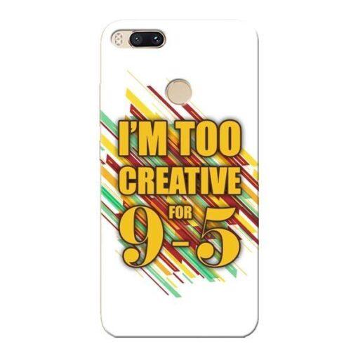 Too Creative Xiaomi Mi A1 Mobile Cover