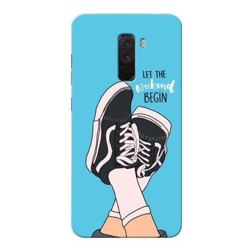 Weekend Xiaomi Poco F1 Mobile Cover