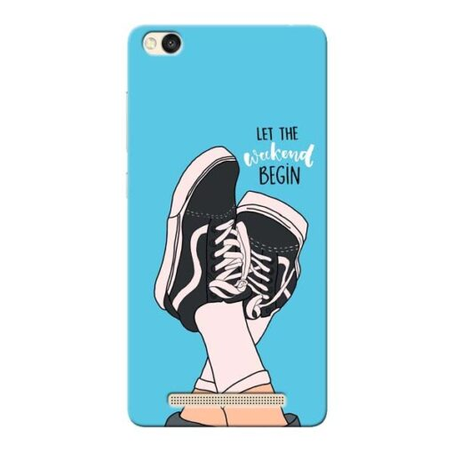 Weekend Xiaomi Redmi 3s Mobile Cover