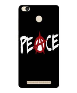 White Peace Xiaomi Redmi 3s Prime Mobile Cover