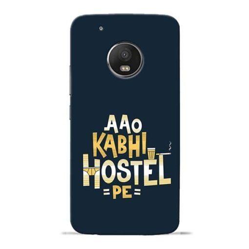 Aao Kabhi Hostel Pe Moto G5 Plus Mobile Cover