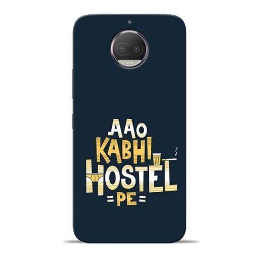 Aao Kabhi Hostel Pe Moto G5s Plus Mobile Cover