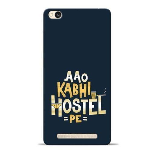 Aao Kabhi Hostel Pe Redmi 3s Mobile Cover
