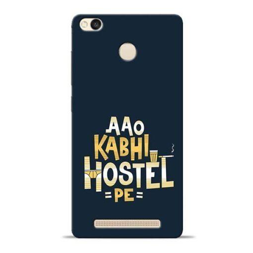Aao Kabhi Hostel Pe Redmi 3s Prime Mobile Cover