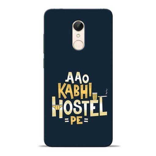 Aao Kabhi Hostel Pe Redmi 5 Mobile Cover