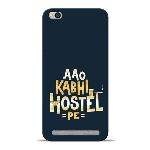 Aao Kabhi Hostel Pe Redmi 5A Mobile Cover