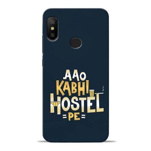 Aao Kabhi Hostel Pe Redmi 6 Pro Mobile Cover