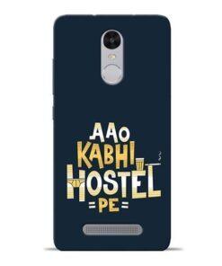 Aao Kabhi Hostel Pe Redmi Note 3 Mobile Cover