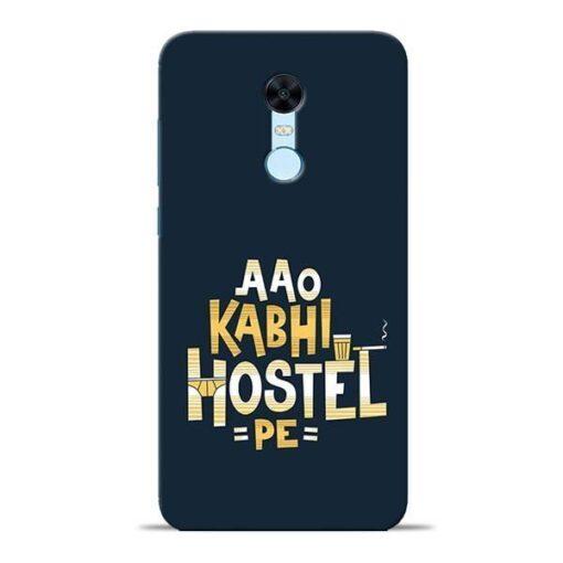 Aao Kabhi Hostel Pe Redmi Note 5 Mobile Cover