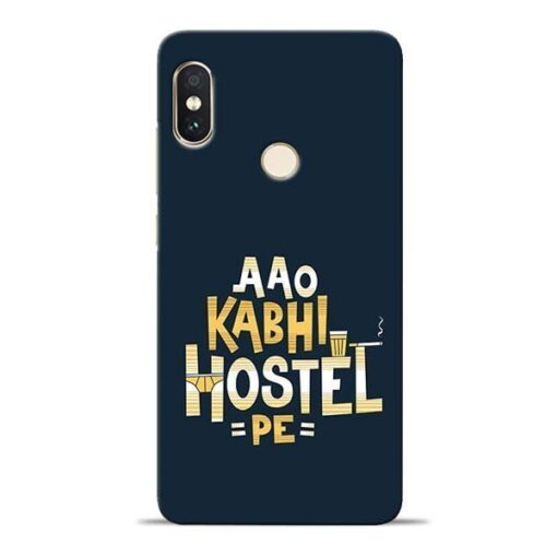 Aao Kabhi Hostel Pe Redmi Note 5 Pro Mobile Cover
