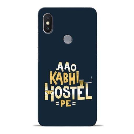 Aao Kabhi Hostel Pe Redmi Y2 Mobile Cover