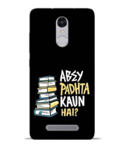 Abey Padhta Koun Redmi Note 3 Mobile Cover