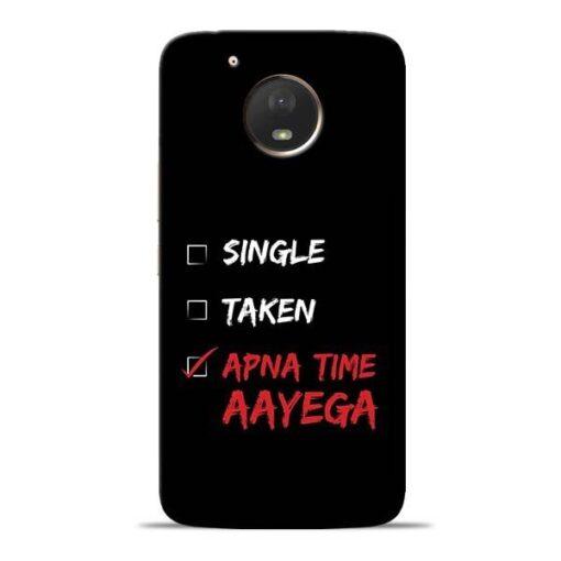 Apna Time Aayega Moto E4 Plus Mobile Cover