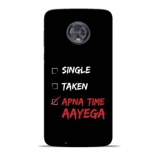Apna Time Aayega Moto G6 Mobile Cover