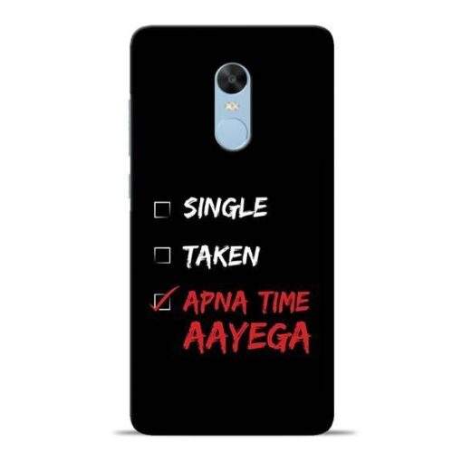 Apna Time Aayega Redmi Note 4 Mobile Cover