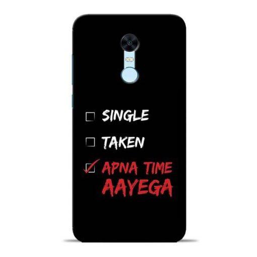 Apna Time Aayega Redmi Note 5 Mobile Cover