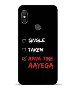 Apna Time Aayega Redmi Note 6 Pro Mobile Cover