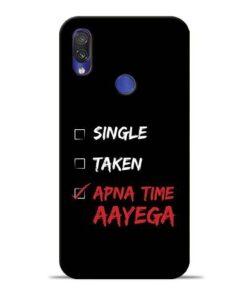 Apna Time Aayega Redmi Note 7 Mobile Cover