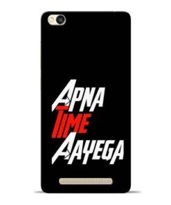 Apna Time Ayegaa Redmi 3s Mobile Cover