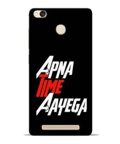 Apna Time Ayegaa Redmi 3s Prime Mobile Cover
