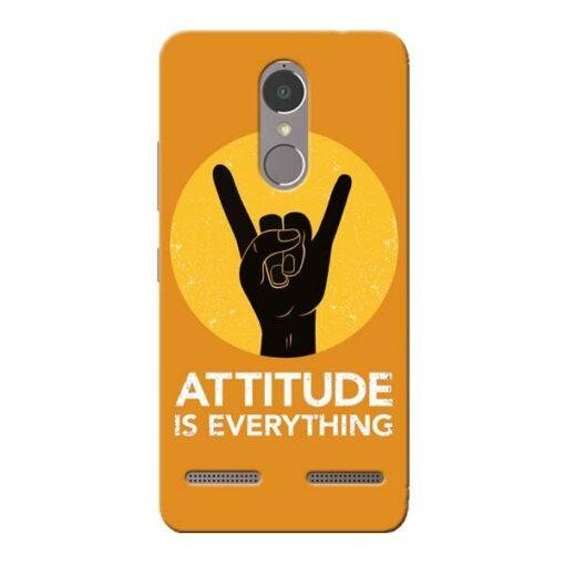 Attitude Lenovo K6 Power Mobile Cover