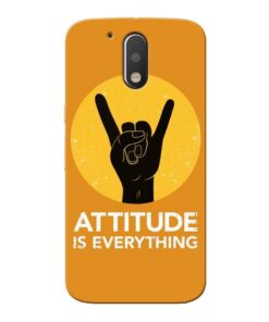 Attitude Moto G4 Mobile Cover