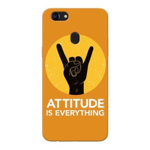 Attitude Oppo F5 Mobile Cover