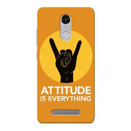 Attitude Xiaomi Redmi Note 3 Mobile Cover