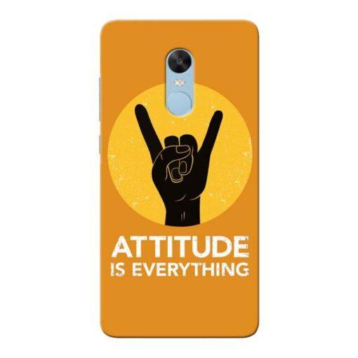 Attitude Xiaomi Redmi Note 4 Mobile Cover