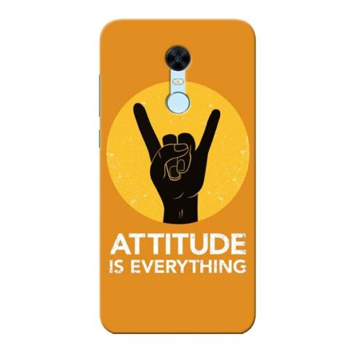 Attitude Xiaomi Redmi Note 5 Mobile Cover