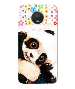 Baby Panda Moto E4 Plus Mobile Cover