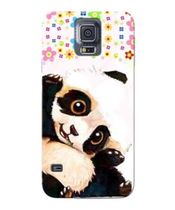 Baby Panda Samsung Galaxy S5 Mobile Cover