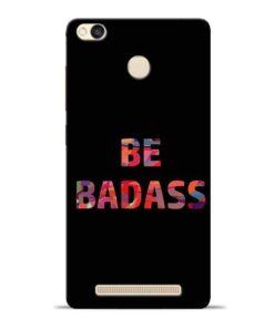 Be Bandass Redmi 3s Prime Mobile Cover
