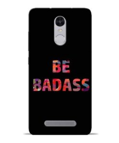 Be Bandass Redmi Note 3 Mobile Cover