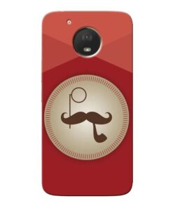Beard Style Moto E4 Plus Mobile Cover