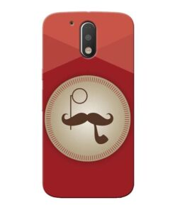 Beard Style Moto G4 Plus Mobile Cover