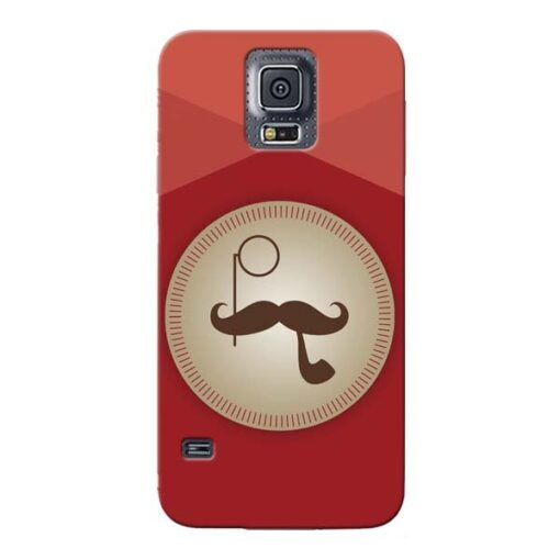 Beard Style Samsung Galaxy S5 Mobile Cover
