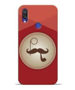 Beard Style Xiaomi Redmi Note 7 Pro Mobile Cover