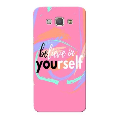 Believe In Samsung Galaxy A8 2015 Mobile Cover