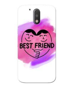 Best Friend Moto G4 Plus Mobile Cover