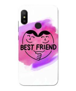 Best Friend Xiaomi Redmi 6 Pro Mobile Cover