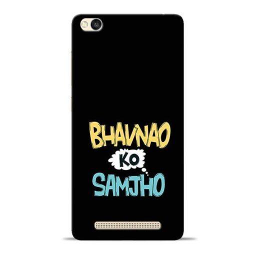 Bhavnao Ko Samjho Redmi 3s Mobile Cover