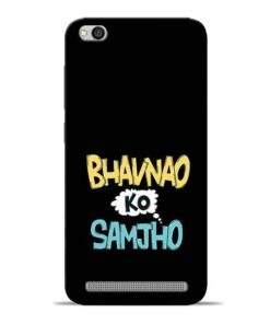 Bhavnao Ko Samjho Redmi 5A Mobile Cover