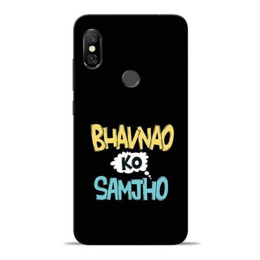 Bhavnao Ko Samjho Redmi Note 6 Pro Mobile Cover